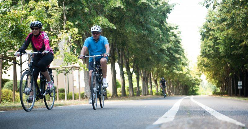 Cyclotourisme vélo électrique Île de France