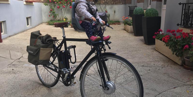 Comment transporter vos enfants à vélo électrique ?