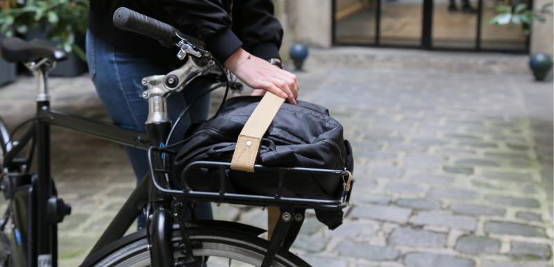 Transport sac à doc vélo pour travail
