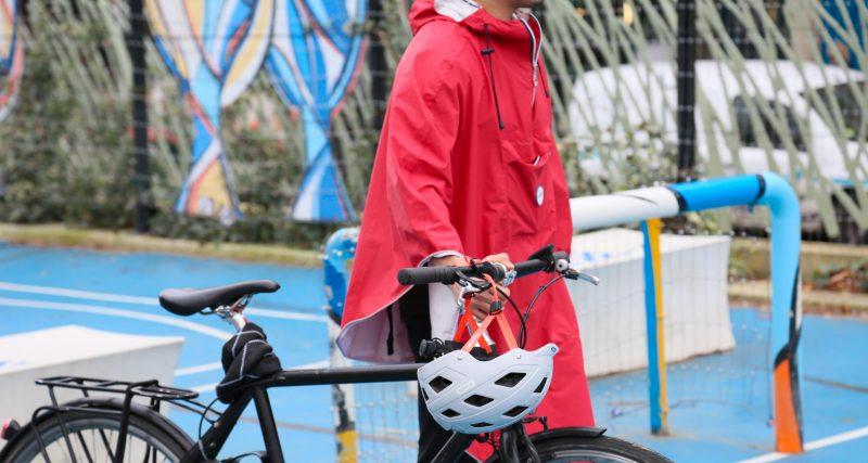 Faire du vélo même sous la pluie