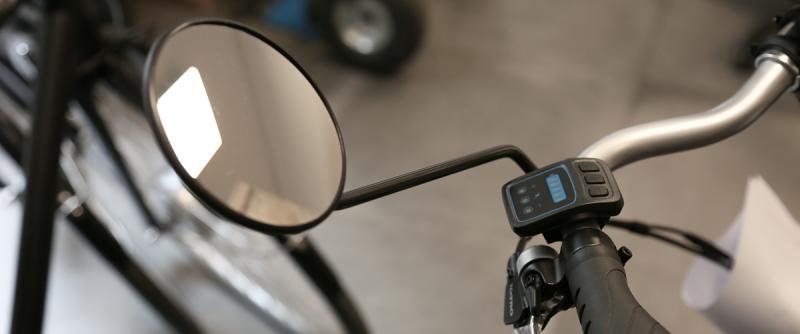 Les rétroviseurs pour vélo électrique