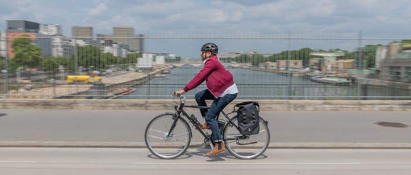 Vélo fait gagner du temps
