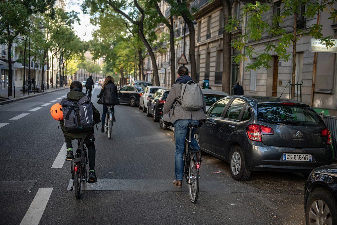 Les citadins font leur rentrée à vélo