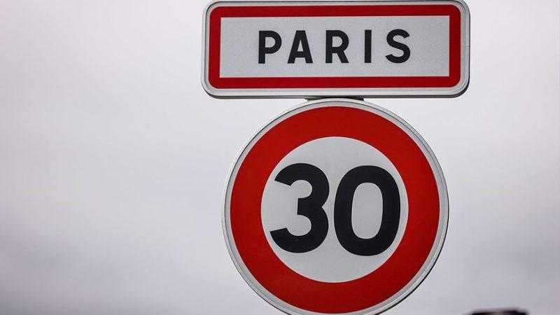 Paris limitation de vitesse à 30 km/h