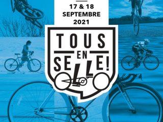 Affiche festival TOUS EN SELLE !