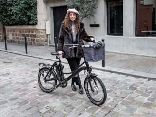 Fashion Week de Paris, look vélo